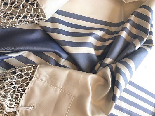 Italian 100% silk Tallit