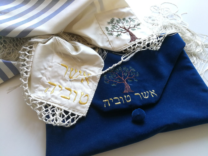 The beauty of a custom-made tallit? It is the possibility of being able to create something unique,