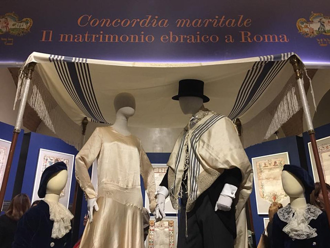 "Glad we had the chance to collaborate with the Jewish museum of Rome for the exhibit ""Concordia"