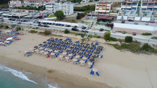 Beachview from drone