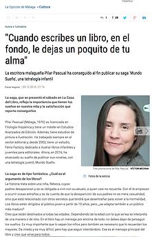 La Opinión Pilar Pascual Mundo Sueño