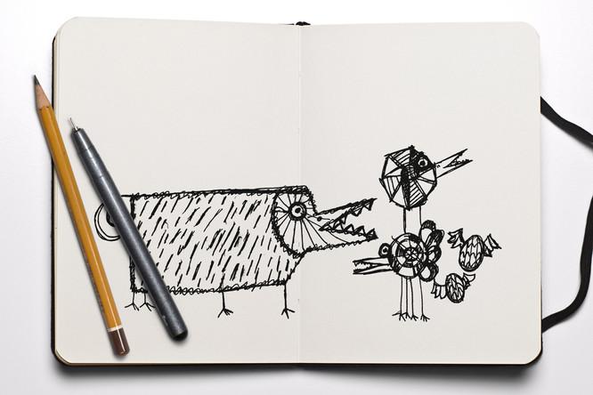 Sketchbooks!
