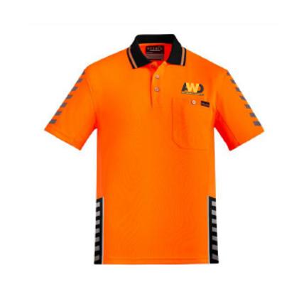 Hi Vis Polo - Orange