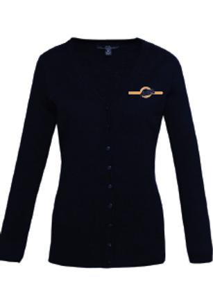 Ladies Cardigan - Navy