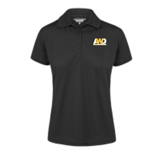 Ladies Polo Shirt - Black