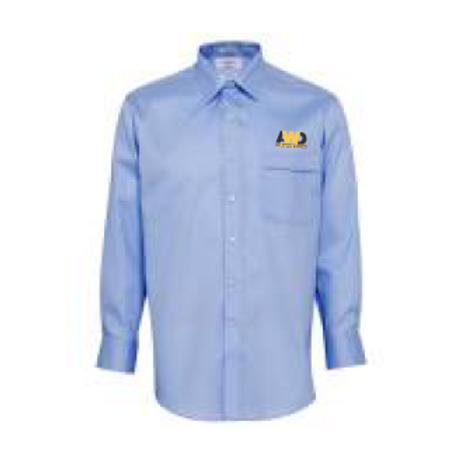 Men's Long Sleeve Shirt - Blue