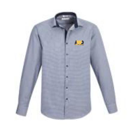 Men's Edge Long Sleeve Shirt - Blue