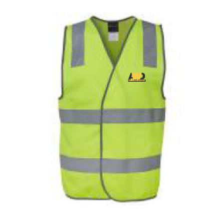 Hi Vis Safety Vest - Yellow