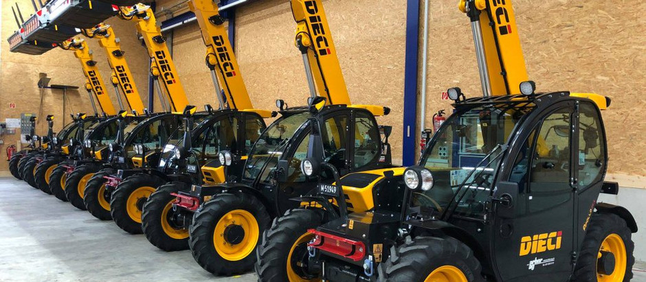 Telescopic handlers suitable for armed forces