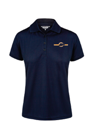 Ladies Polo Shirt - Navy