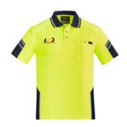 Hi Vis Polo - Yellow