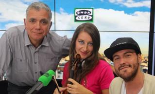 Entrevista de Juan Ramón Lucas a Elena Mikhailova en ONDA CERO