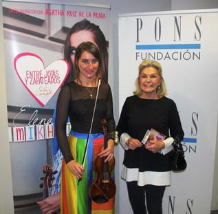 Homenaje a Paganini en Fundación Pons