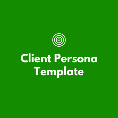 Client Persona Template