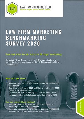 Mkt Benchmarking Survey 2020 - Front Cov