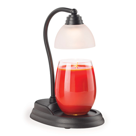 Black Aurora Candle Lamp Warmer