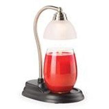 Pewter Aurora Candle Lamp Warmer