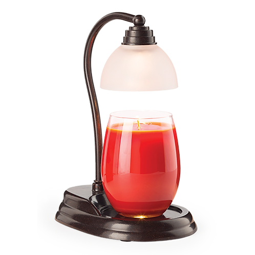 Bronze Aurora Candle Lamp Warmer