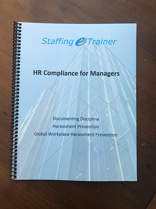 HR Compliance for Managers