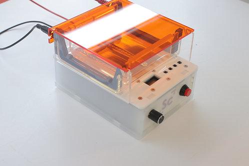 Sistema de electroforesis 3 en 1