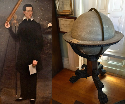 Ephraim Byram and his Orrery