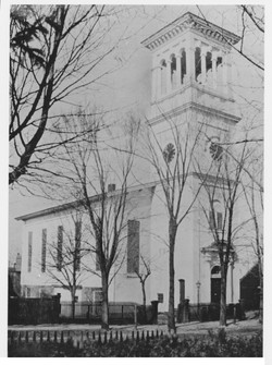 An iconic photo of the Church