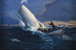 Cappy Amundson Whaling Painting