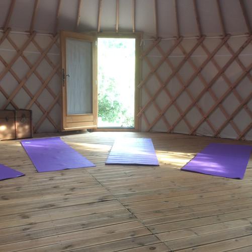 Yoga sur demande
