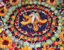13-Centre Mandala fruits