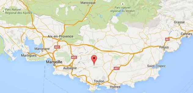 Signes à 25 km de la mer et 45 min de Toulon, Marseille et Aix en Pce