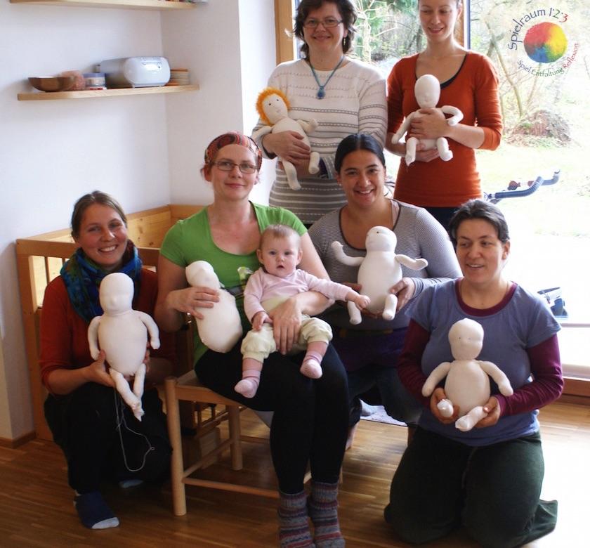 Puppenbau Workshop mit Barbara im Dezember 2014