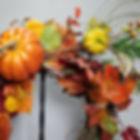 e7  Insert the stem of the pumpkin pick