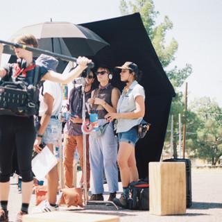 On set of Moondogs