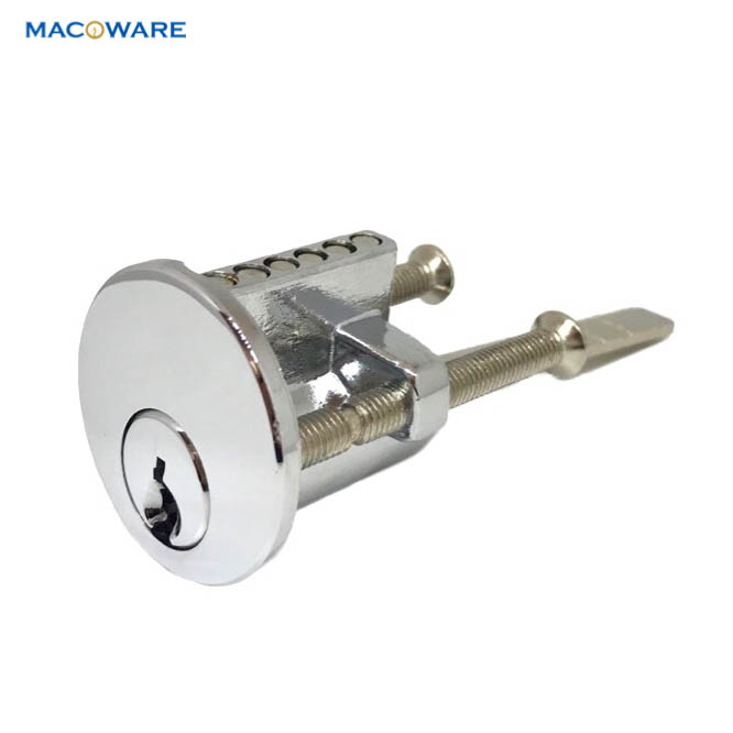 Chrome Plated Rim Door Cylinder_2