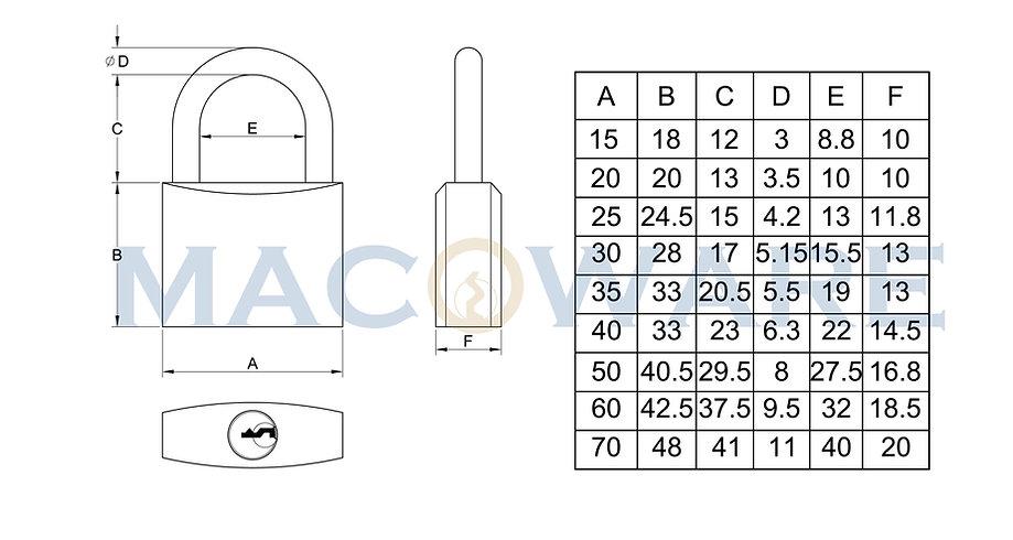 90series Solid Brass Padlock-01.jpg
