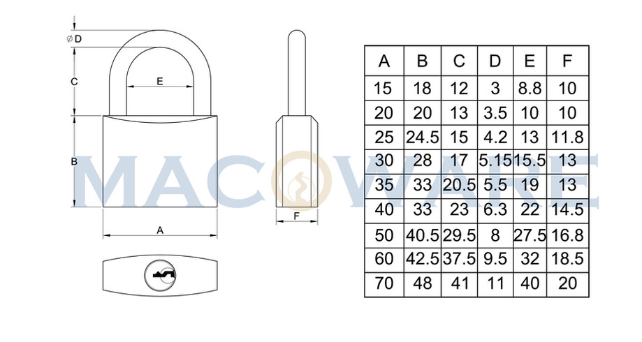 90series Solid Brass Padlock-01.jpg