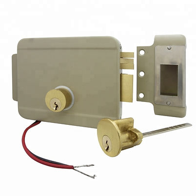 High-Security-Electric-Rim-Lock-Door-Loc