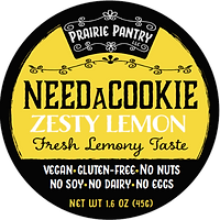 Zesty Lemon NeedaCookie Front Label