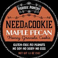 Maple Pecan NeedaCookie Front Label