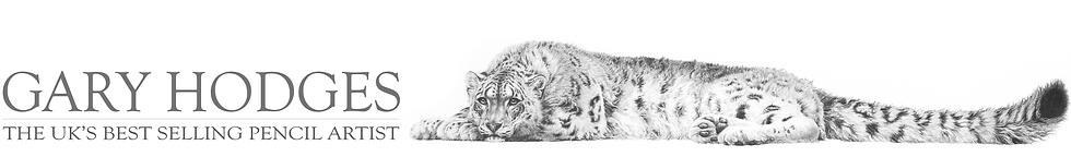 Wildlife artist Gary Hodges, UK's best selling pencil artist