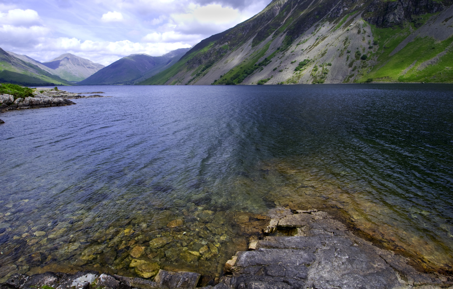 Wastwater in Lake District UK by Dave Currey