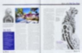 Wildlife Artist Gary Hodges article in magazine
