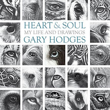Heart & Soul, by Gary Hodges with full wildlife art portfolio and autobiogrphy