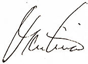 Signature for quote by Martina Navratilova