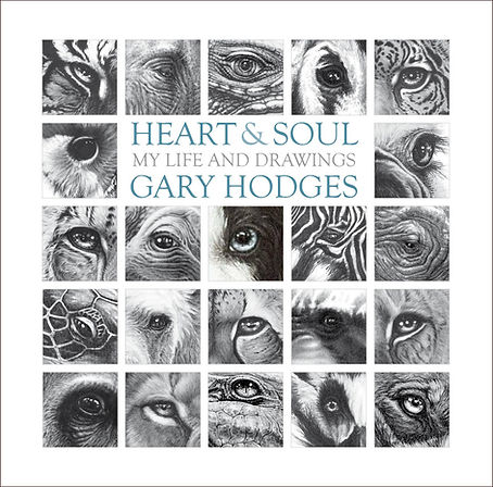 Gary Hodges's book of drawings and auobiography Heart and Soul