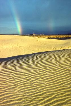 Death Valley Rainbow by Dave Currey