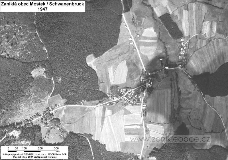 Mostek v r. 1947