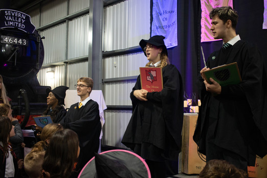 Heads of house at The Severn Valley School of Witchcraft and Wizardry