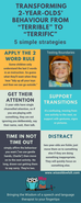 "🌟5 Effective Steps for transforming 2 year olds' behaviour from ""terrible"" to ""terrific""🌟"