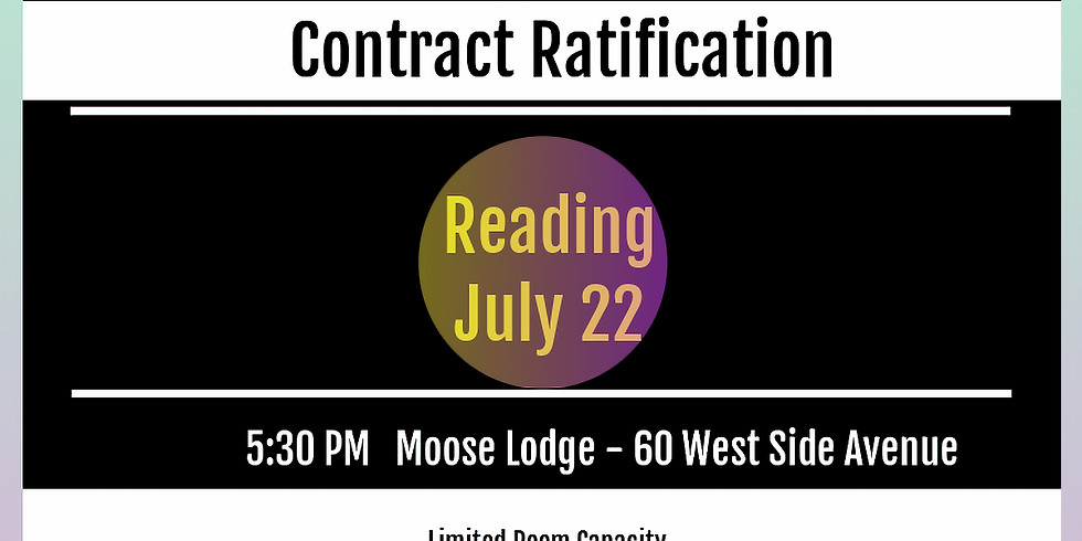Reading - Contract Ratification